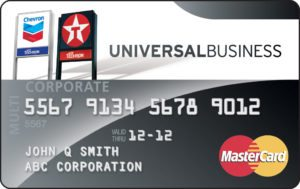 Fleet redwood oil company universal business mastercard card colourmoves